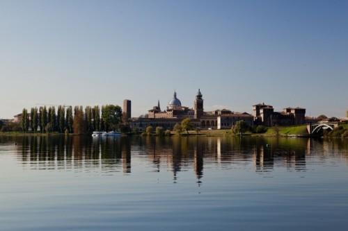 Mantova - Panorama su mantova