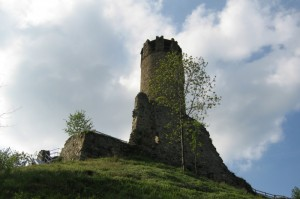 Faceva da vedetta al castello medioevale