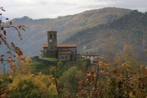 All'interno della Rocca di Ceserana…
