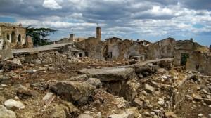 Craco Vecchia - Devastazione