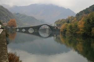 Borgo a Mozzano ed il suo famoso ponte
