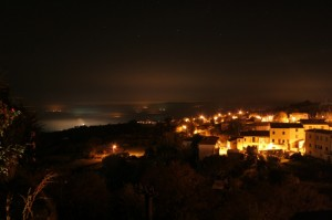 Castellina Marittima by night….. per Kicka!!!