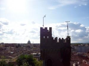 Panorama con torretta