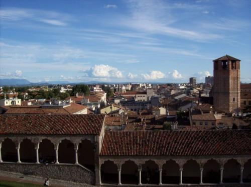 Udine - Vista con porticato