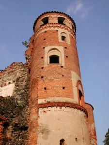 Strambino, la torre del castello