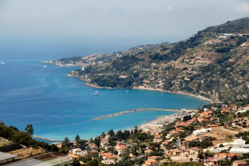 Sanremo - San Remo e la costiera vista da ColdiRodi