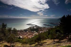 Salerno dal Castello Arechi