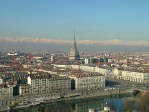 Piazza Veneto e Mole dal Monte dei Cappuccini
