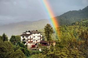 Dove nasce l'arcobaleno
