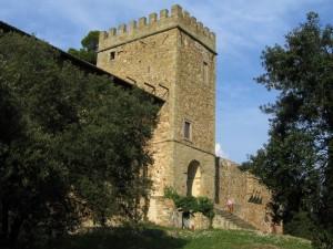 Il torrione di Castel Poggio