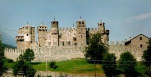 La maestosità del castello di Fenis