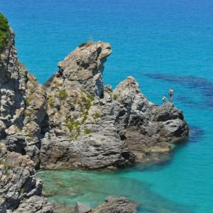 Scoglio del Leone a Zambrone (VV),Calabria.