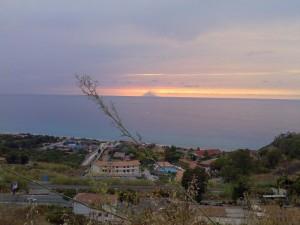 Tramonto da Zambrone (VV),Calabria.