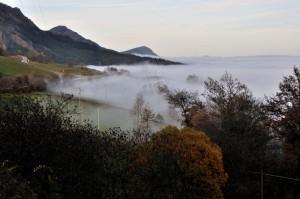 Un mare di nebbia