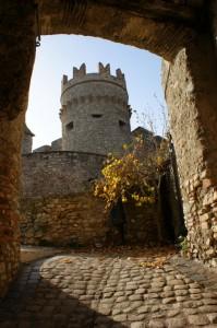 L' autunno nel castello