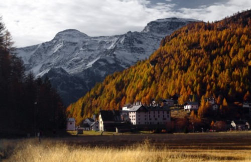 Baceno - vista della Piana dell'Alpe Devero