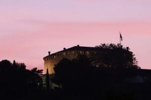 Castello al tramonto