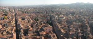 Panoramica di Bologna dalla Torre degli Asinelli