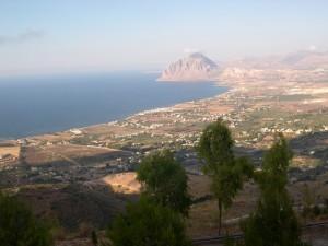 Vista sul Monte Cofano