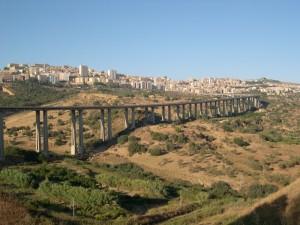 Panoramica di Agrigento