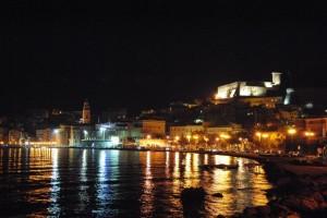 Le luci del borgo medioevale…