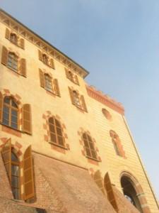 Piccolo dettaglio del castello di Barolo