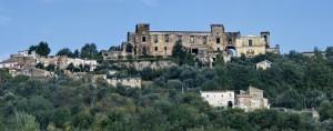Panoramica del castello e del borgo
