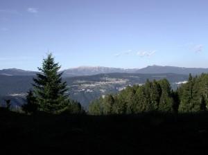 Luserna/Lusérn vista dai Fiorentini