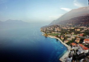 Malcesine from the castle