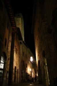 I vicoli di San Gimignano