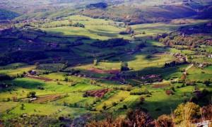 Una valle piena di colori