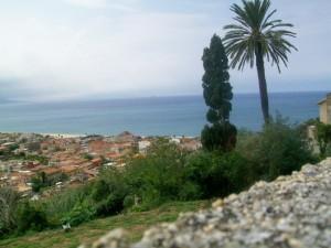 vista panoramica di nicotera