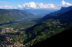 Un tratto di Val d'Adige