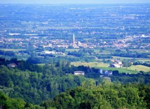 Panorama dalla Strada per il Cansiglio
