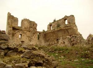 Castello di Bivona veduta dall'interno