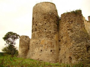 Castello di Bivona veduta posteriore