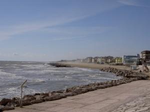 Il mare d'autunno a Caorle