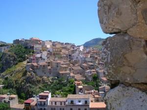 Panorama della Città di Caccamo