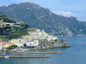 Tipica cartolina di Amalfi