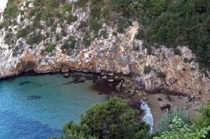 Vista mare dalla Via Flacca
