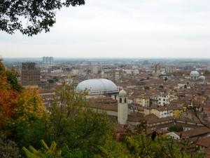 Brescia centro dal castello