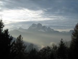 Nuvole sul Pelmo