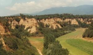 il piccolo CANYON della Toscana