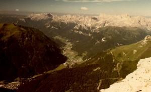 Campitello e la Val di Fassa