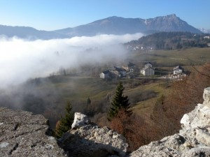 Nebbia sull'altipiano