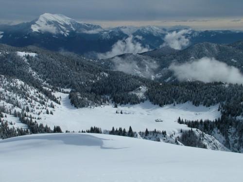 Gandino - Invernale su Campo d'Avene