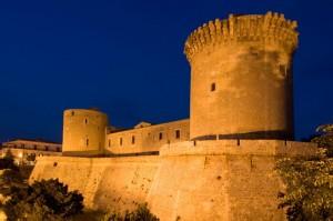 Ora Blu sul Castello di Venosa
