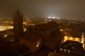 Panoramica verso San Luca
