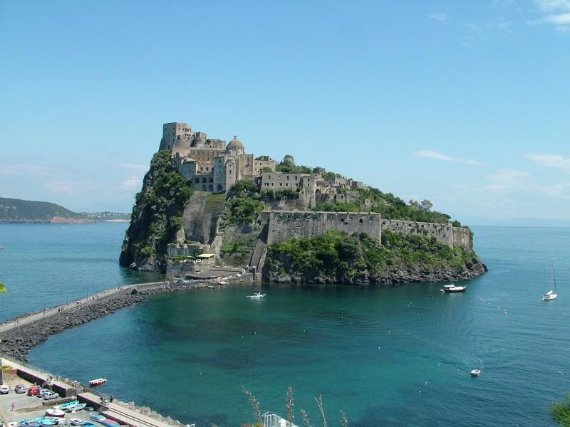 ''Ponte Aragonese e Castello'' - Ischia