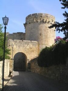 un ingresso fortificato